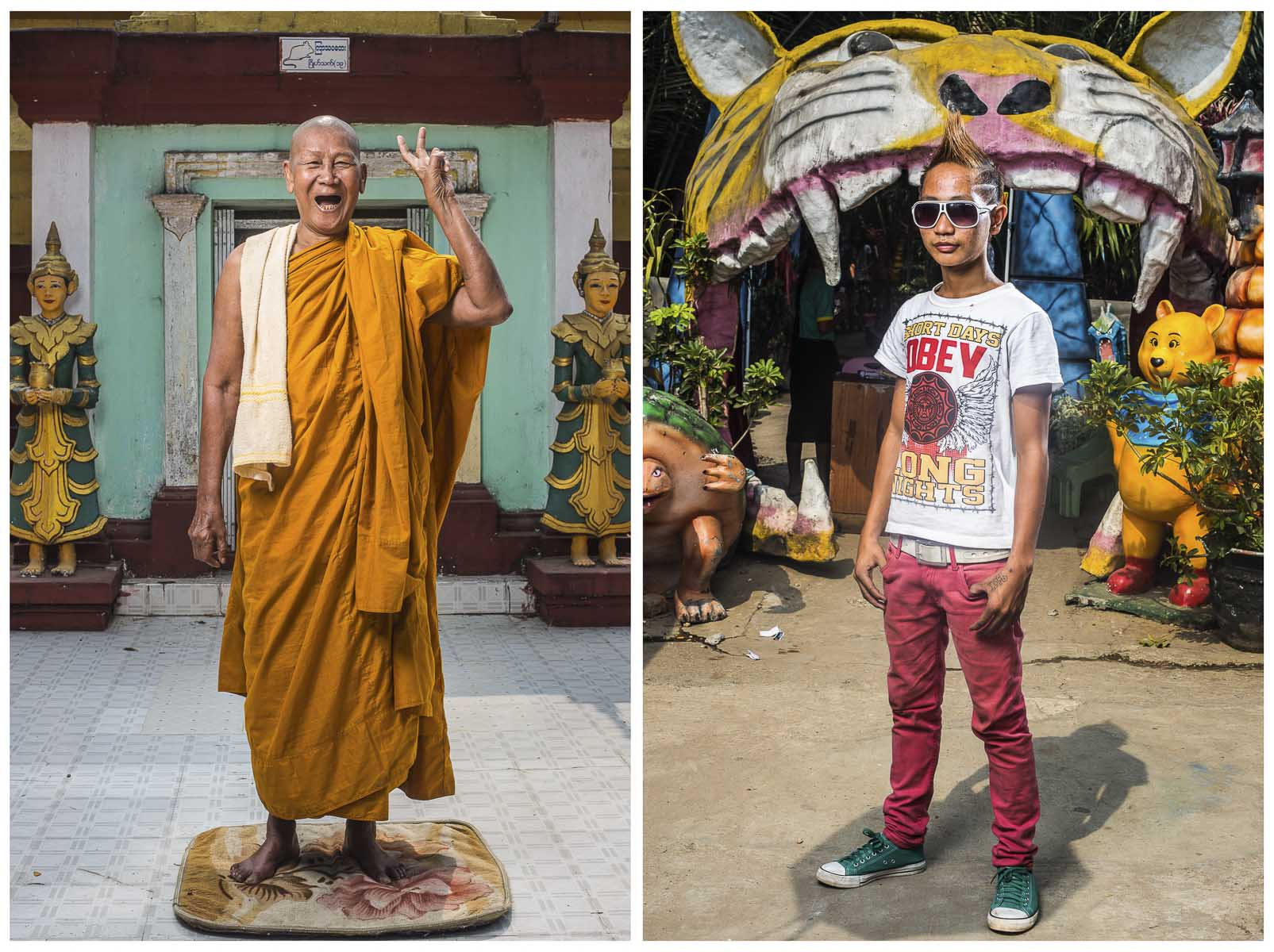 Myanmar lifestyle portraits of old and young.jpg